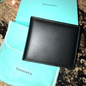 Leather Tiffany and Co Wallet